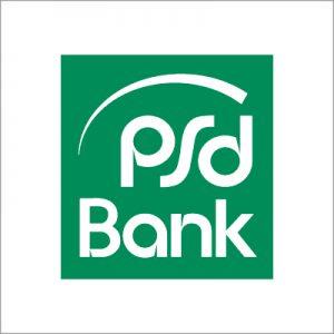 Logo der PSD Bank.