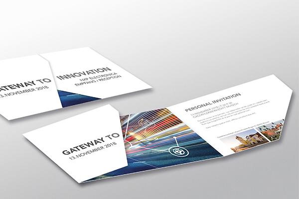 NXP Einladungskarte.